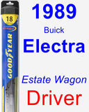 Driver Wiper Blade for 1989 Buick Electra - Hybrid
