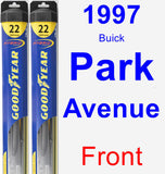 Front Wiper Blade Pack for 1997 Buick Park Avenue - Hybrid