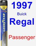 Passenger Wiper Blade for 1997 Buick Regal - Hybrid