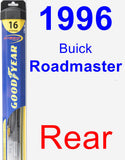 Rear Wiper Blade for 1996 Buick Roadmaster - Hybrid