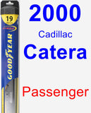 Passenger Wiper Blade for 2000 Cadillac Catera - Hybrid