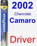 Driver Wiper Blade for 2002 Chevrolet Camaro - Hybrid