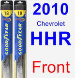 Front Wiper Blade Pack for 2010 Chevrolet HHR - Hybrid