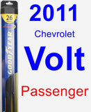 Passenger Wiper Blade for 2011 Chevrolet Volt - Hybrid
