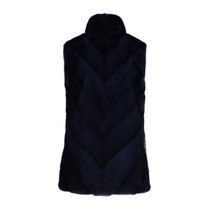 CALLIE VEST IN NAVY