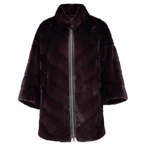 PAOLA JACKET IN BURGUNDY