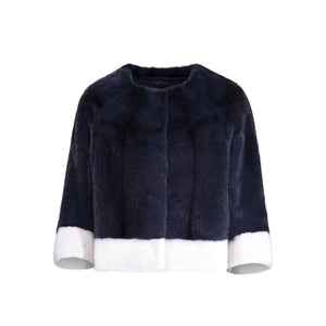 AUBREY JACKET IN DENIM BLUE