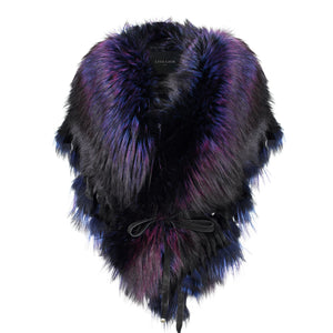 FRINGE COLLAR IN PURPLE RAIN
