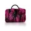 TOP HANDLE BAG IN PINK YARROW