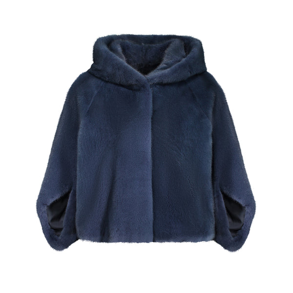 GIA JACKET IN NAVY BLUE