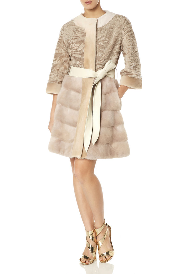 DIANA COAT IN BLUSH