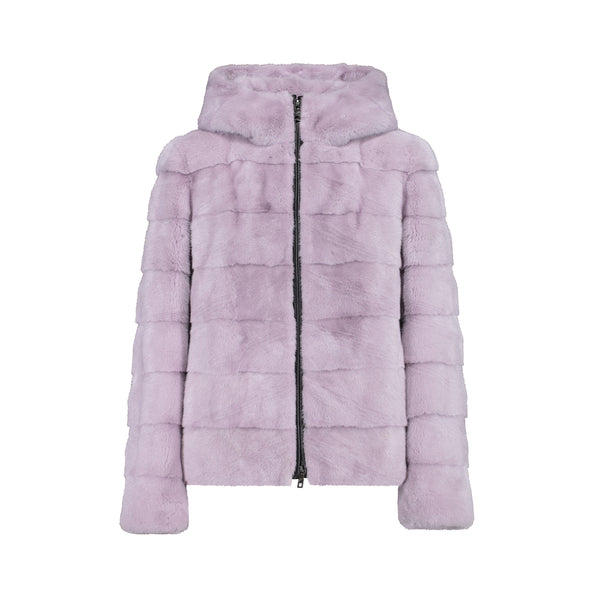 NORA JACKET IN LILAC