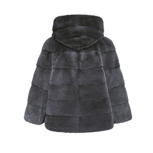 EMMA JACKET IN CHARCOAL