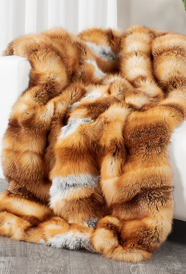 Red Fox Throw