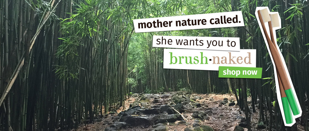 Brush Naked Bamboo Toothbrush Company