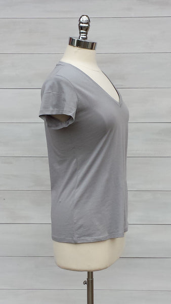 Perfect v neck tee. Mexx.  Sleet Grey