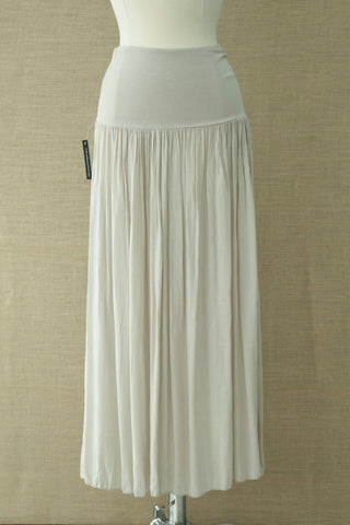Long draping skirt. Diabolika. Sand