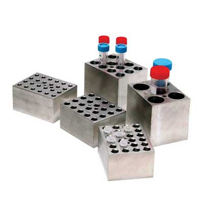 Block for Dry Bath 50 mL Size (5 spots)
