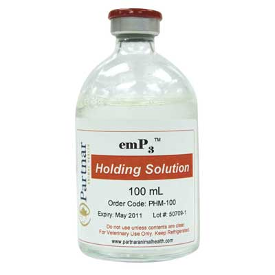emP3 Holding Solution 100 mL COLD 5/cs