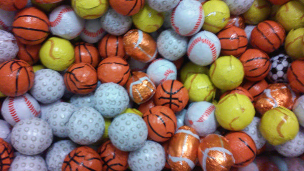 Chocolate Sportsballs