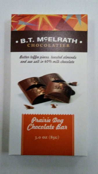 B. T. McELRATH   Prairie Dog Chocolate Bar