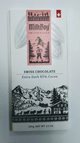 Milk Boy Swiss Chocolates