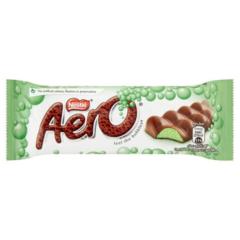 Nestle Aero Peppermint Milk Chocolate Bar