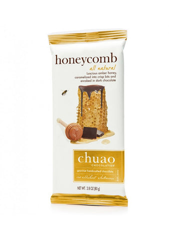 Honeycomb Dark Chocolate Bar