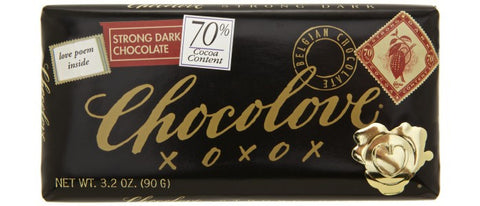 Chocolove Strong Dark Chocolate Bar
