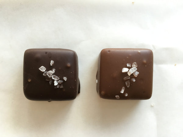 Chocolate Covered Sea Salt Caramels