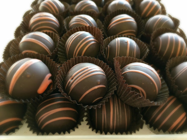 Dark Orange Truffles
