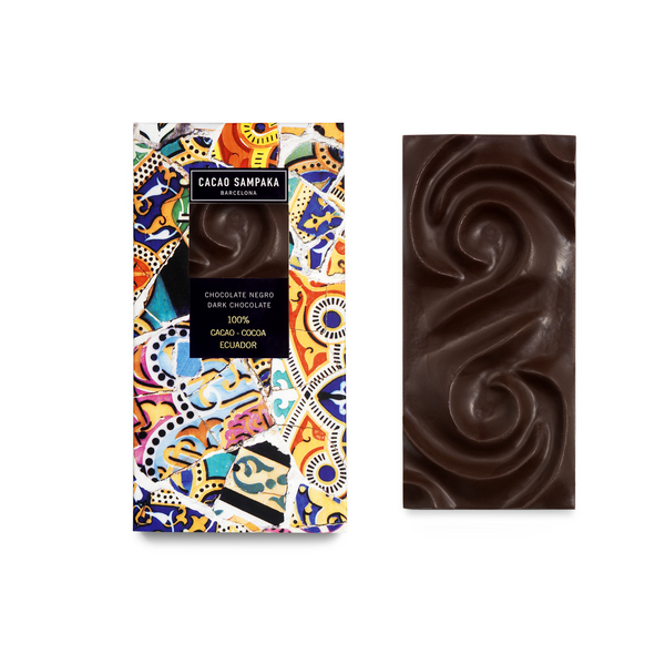 Cacao Sampaka 100% Dark Chocolate Bar