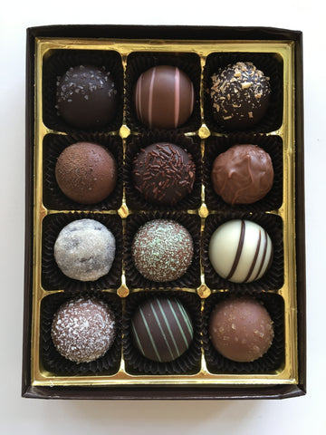 12 Piece Truffle Assortment