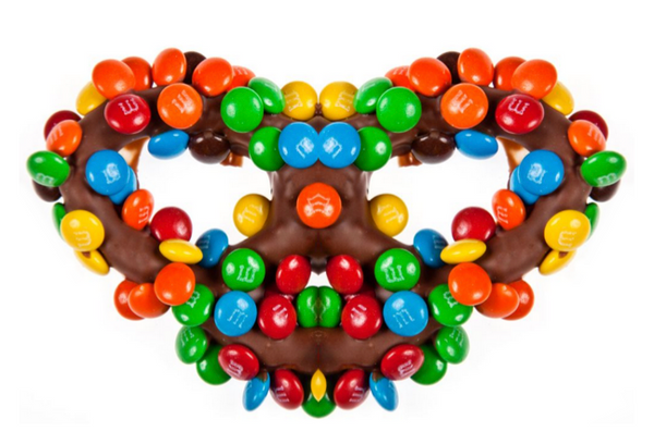 M&M Chocolate Covered Pretzel