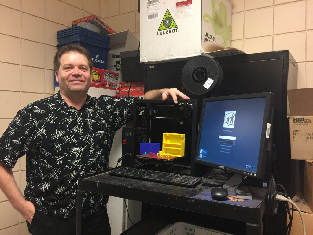 Lee Van Cauwenberghe - 3D Printer of the Month