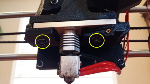 Lulzbot Taz 5 upgrade hotend unscrew extruder housing