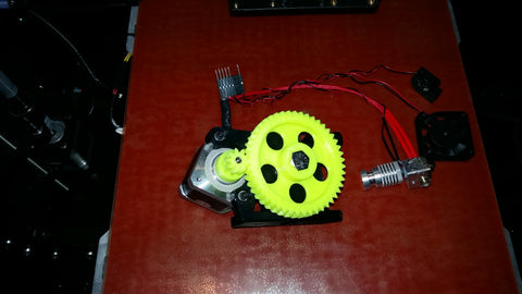 Lulzbot Taz 5 upgrade hotend new herringbone gears