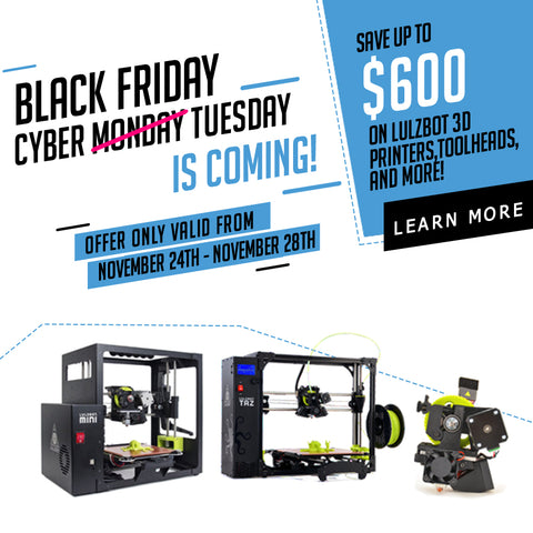 Print Your Mind 3D 2017 Black Friday Sale