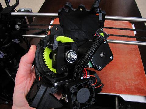 Lulzbot Taz Hexagon Hot End Lift off X Carriage