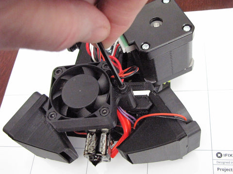 Lulzbot Taz Hexagon Hot End Front Extruder Fan