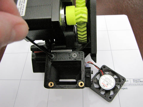 Lulzbot Taz Hexagon Hot End Right Fan Shroud