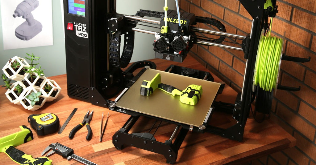 Lulzbot Taz Pro on desk