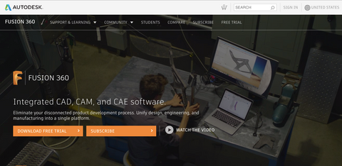 Autodesk Fusion 360 software