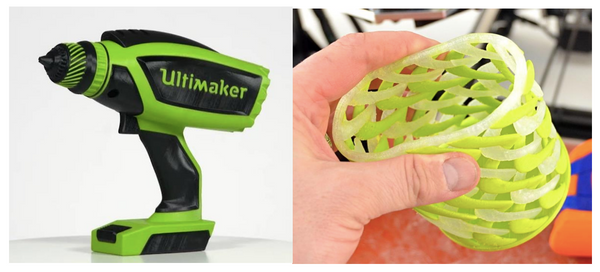 Ultimaker and Lulzbot dual extrusion 3Dprints