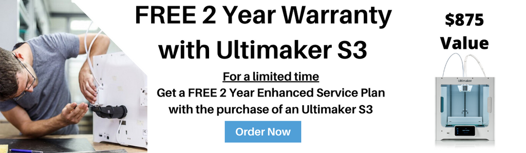 Ultimaker S3 3D Printer free ESP