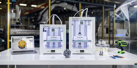 Ultimaker 3 and 3 Extended 3D printers