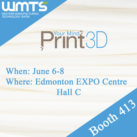 Print Your Mind 3D Exhibiting at WMTS 2017