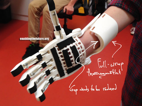 Thermo forming prosthetic hand