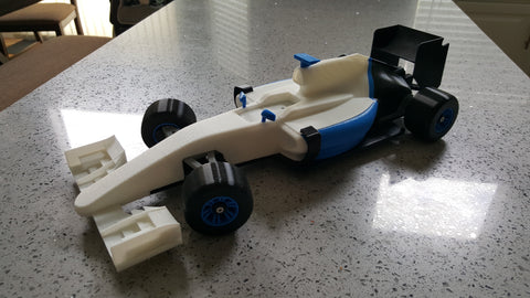 Open RC 3D printed model car