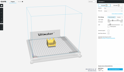 Ultimaker Cura now integrates with SOLIDWORKS